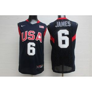 Team USA LeBron James Jersey (2)